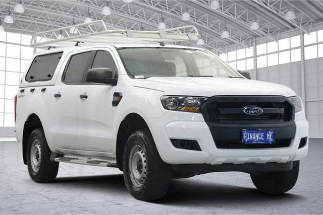Used Ford Ranger PX MkII 2018.00MY XL Hi-Rider Victoria Park, 2018 Ford Ranger PX MkII 2018.00MY XL Hi-Rider White 6 Speed Sports Automatic Utility