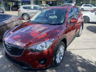 2014 Mazda CX-5 KE1032 Akera SKYACTIV-Drive AWD Zeal Red 6 Speed Sports Automatic Wagon.