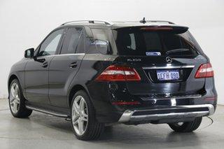 2013 Mercedes-Benz M-Class W166 ML250 BlueTEC 7G-Tronic + Black 7 Speed Sports Automatic Wagon.