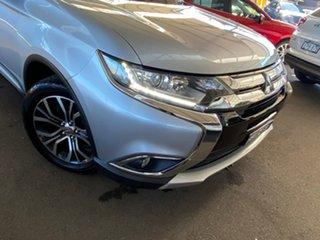 2015 Mitsubishi Outlander ZK MY16 XLS 4WD Silver 6 Speed Sports Automatic Wagon
