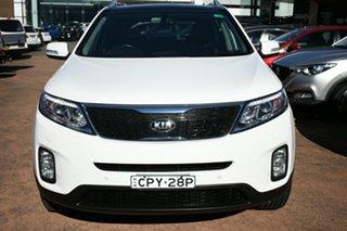 2013 Kia Sorento XM MY13 Platinum (4x4) White 6 Speed Automatic Wagon