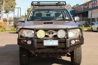 2007 Toyota Hilux KUN26R 07 Upgrade SR5 (4x4) Brown 5 Speed Manual Dual Cab Pick-up.