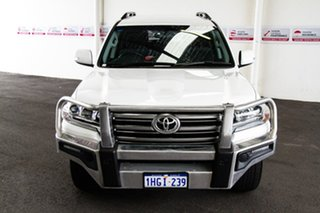 2016 Toyota Landcruiser VDJ200R GXL Glacier White 6 Speed Sports Automatic Wagon.