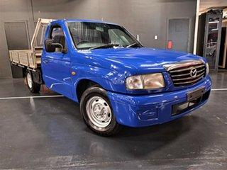 2003 Mazda Bravo B2600 DX 4x2 Metallic Blue 5 Speed Manual Cab Chassis.