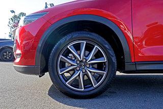 2019 Mazda CX-5 KF4W2A GT SKYACTIV-Drive i-ACTIV AWD Red 6 Speed Sports Automatic Wagon