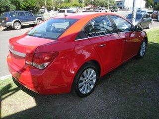 2012 Holden Cruze JH MY12 CDX Red 6 Speed Automatic Sedan