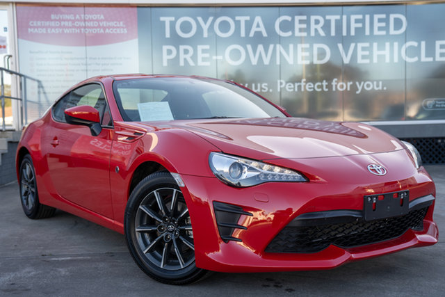 Pre-Owned Toyota 86 ZN6 GT Guildford, 2020 Toyota 86 ZN6 GT Ignition Red 6 Speed Manual Coupe