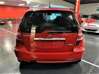 2005 Mercedes-Benz A-Class W169 A200 Elegance Red 7 Speed Constant Variable Hatchback