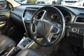 2018 Mitsubishi Triton MR MY19 GLS Double Cab Premium White 6 Speed Sports Automatic Utility