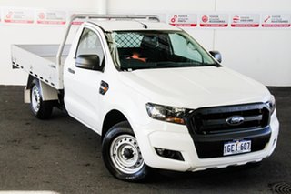 2016 Ford Ranger PX MkII XL 2.2 (4x2) 6 Speed Manual Cab Chassis.