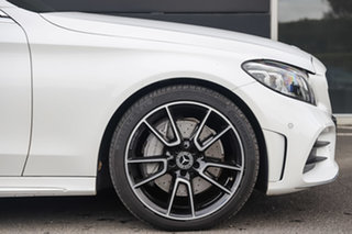 2020 Mercedes-Benz C-Class C205 800+050MY C300 9G-Tronic Polar White 9 Speed Sports Automatic Coupe