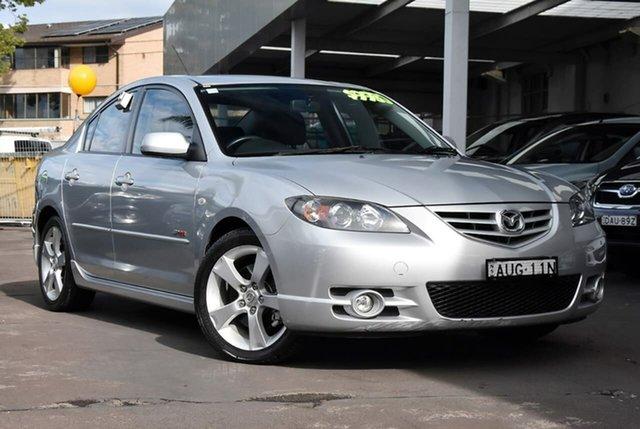 Used Mazda 3 BK1031 SP23 Waitara, 2005 Mazda 3 BK1031 SP23 Silver 5 Speed Manual Sedan