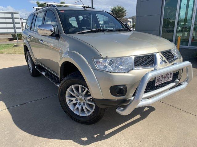 Used Mitsubishi Challenger PB (KH) MY10 LS Townsville, 2010 Mitsubishi Challenger PB (KH) MY10 LS Gold/080410 5 Speed Sports Automatic Wagon