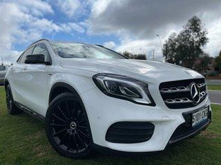 2018 Mercedes-Benz GLA-Class X156 808+058MY GLA180 DCT White 7 Speed Sports Automatic Dual Clutch.