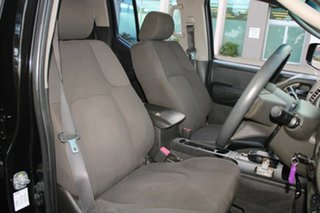 2007 Nissan Navara D40 ST-X (4x4) Black 5 Speed Automatic Dual Cab Pick-up