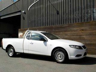 2010 Ford Falcon FG Ute Super Cab White 6 Speed Sports Automatic Utility.