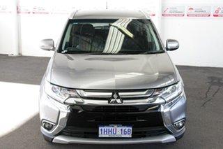 2015 Mitsubishi Outlander ZK MY16 LS (4x2) Grey Continuous Variable Wagon.