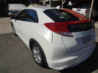 2013 Honda Civic FK VTi-S White 6 Speed Manual Hatchback