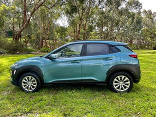 2019 Hyundai Kona OS.2 MY19 Go 2WD Ceramic Blue/dark Gr 6 Speed Sports Automatic Wagon.
