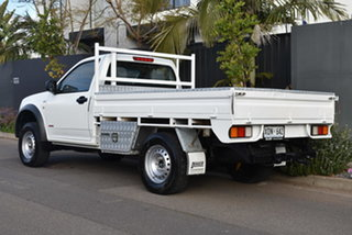 2007 Holden Rodeo RA MY07 LX White 5 Speed Manual Cab Chassis.