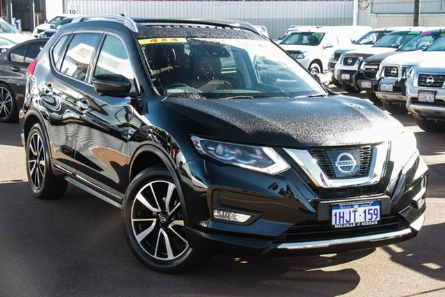 Used Nissan X-Trail T32 Series II Ti X-tronic 4WD Attadale, 2018 Nissan X-Trail T32 Series II Ti X-tronic 4WD Black 7 Speed Constant Variable Wagon