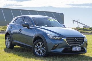 2019 Mazda CX-3 DK2W7A Maxx SKYACTIV-Drive FWD Sport Blue 6 Speed Sports Automatic Wagon.