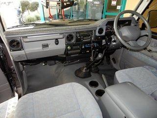 2008 Toyota Landcruiser VDJ76R GXL (4x4) Grey 5 Speed Manual Wagon.