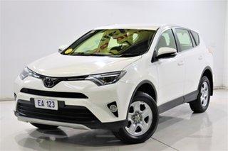 2018 Toyota RAV4 ASA44R GX AWD White 6 Speed Sports Automatic Wagon.