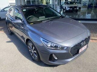 2018 Hyundai i30 PD MY18 Premium D-CT Grey 7 Speed Sports Automatic Dual Clutch Hatchback.