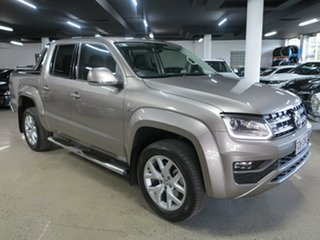 2018 Volkswagen Amarok 2H MY18 TDI550 4MOTION Perm Ultimate Silver 8 Speed Automatic Utility.