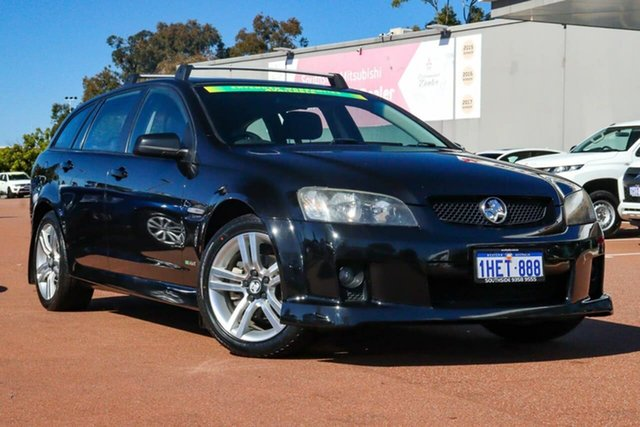 Used Holden Commodore VE MY10 SV6 Sportwagon Cannington, 2009 Holden Commodore VE MY10 SV6 Sportwagon Black 6 Speed Sports Automatic Wagon