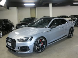 2017 Audi RS5 F5 MY18 Tiptronic Quattro Silver 8 Speed Sports Automatic Coupe.
