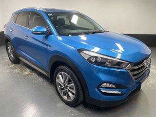 2017 Hyundai Tucson TLe MY17 Elite 2WD Blue 6 Speed Sports Automatic Wagon.