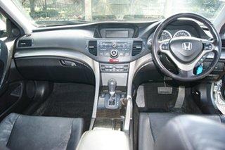 2008 Honda Accord 10 Euro Luxury Silver 5 Speed Automatic Sedan