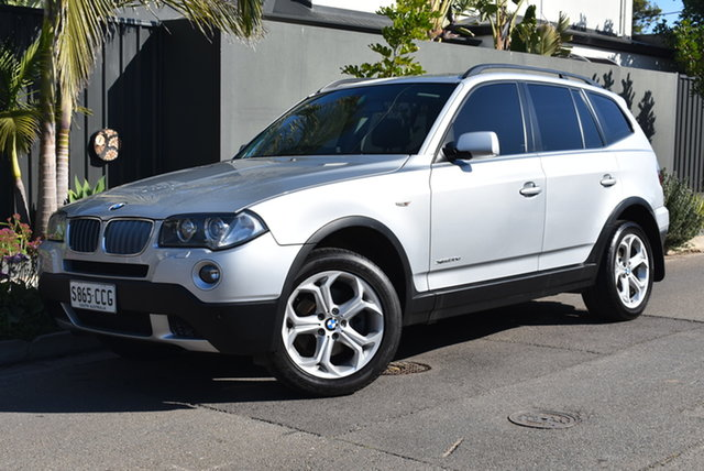 Used BMW X3 E83 MY09 xDrive30d Steptronic Lifestyle Brighton, 2008 BMW X3 E83 MY09 xDrive30d Steptronic Lifestyle Silver 6 Speed Automatic Wagon