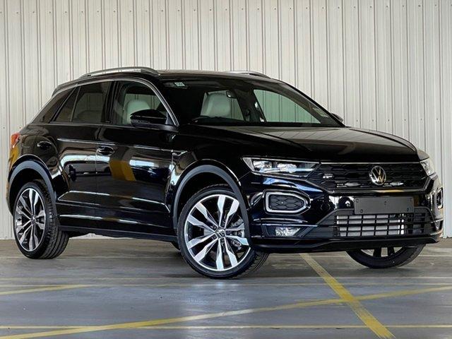 New Volkswagen T-ROC A1 MY21 140TSI DSG 4MOTION Sport Moorabbin, 2021 Volkswagen T-ROC A1 MY21 140TSI DSG 4MOTION Sport Black 7 Speed Sports Automatic Dual Clutch