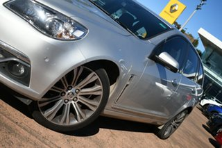 2014 Holden Calais VF V Silver 6 Speed Automatic Sportswagon.
