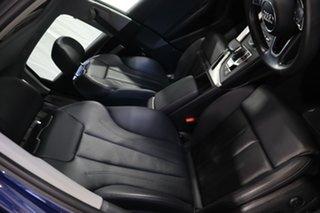 2016 Audi A4 B9 8W MY17 Sport S Tronic Blue 7 Speed Sports Automatic Dual Clutch Sedan