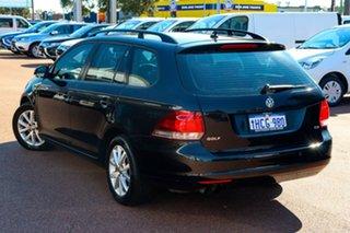 2012 Volkswagen Golf VI MY12.5 90TSI DSG Trendline Black 7 Speed Sports Automatic Dual Clutch Wagon.