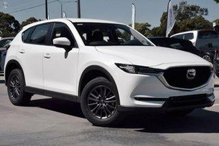 2021 Mazda CX-5 KF2W7A Maxx SKYACTIV-Drive FWD Sport White 6 Speed Sports Automatic Wagon.