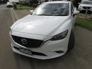2015 Mazda 6 6C MY14 Upgrade Touring White 6 Speed Automatic Sedan.