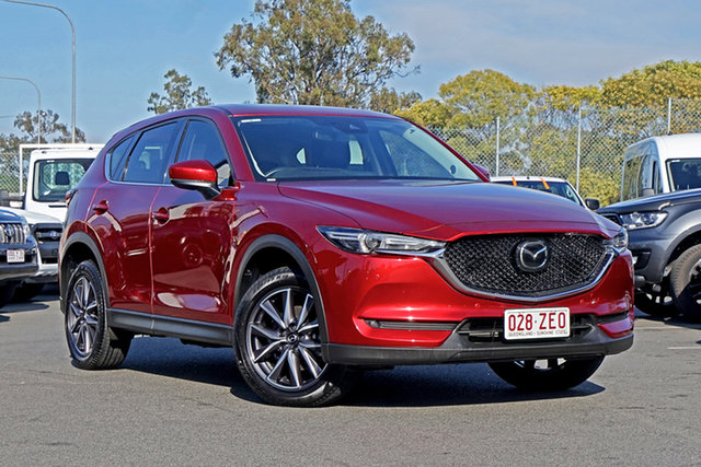 Used Mazda CX-5 KF4W2A GT SKYACTIV-Drive i-ACTIV AWD Ebbw Vale, 2019 Mazda CX-5 KF4W2A GT SKYACTIV-Drive i-ACTIV AWD Red 6 Speed Sports Automatic Wagon