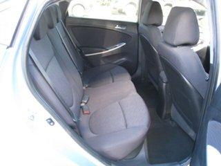 2011 Hyundai Accent RB Elite Blue 4 Speed Automatic Sedan