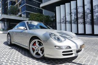 2005 Porsche 911 997 Carrera S Arctic Silver 6 Speed Manual Coupe.