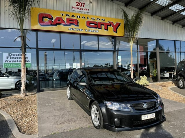 Used Holden Commodore VE MY10 SV6 Traralgon, 2010 Holden Commodore VE MY10 SV6 Black 6 Speed Manual Sedan