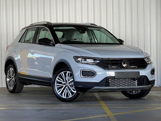 New Volkswagen T-ROC A1 MY21 110TSI Style Moorabbin, 2021 Volkswagen T-ROC A1 MY21 110TSI Style Silver 8 Speed Sports Automatic Wagon