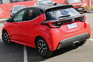 2021 Toyota Yaris Mxpa10R ZR Coral Rose W Black Roof 10 Speed Constant Variable Hatchback.