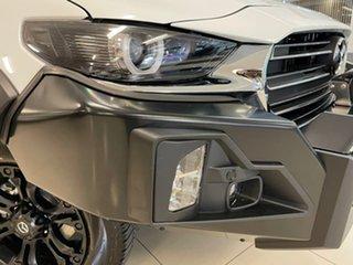 2021 Mazda BT-50 TFS40J Thunder White 6 Speed Sports Automatic Utility.