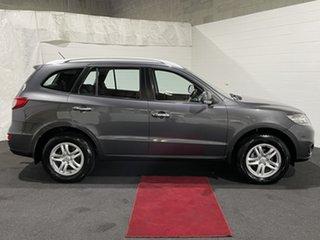 2011 Hyundai Santa Fe CM MY11 Elite Carbon Grey 6 Speed Sports Automatic Wagon.