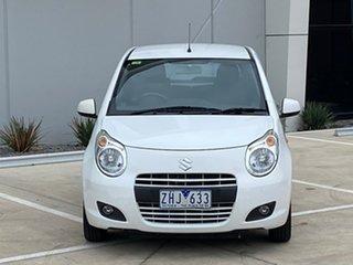2012 Suzuki Alto GF GLX White 4 Speed Automatic Hatchback.